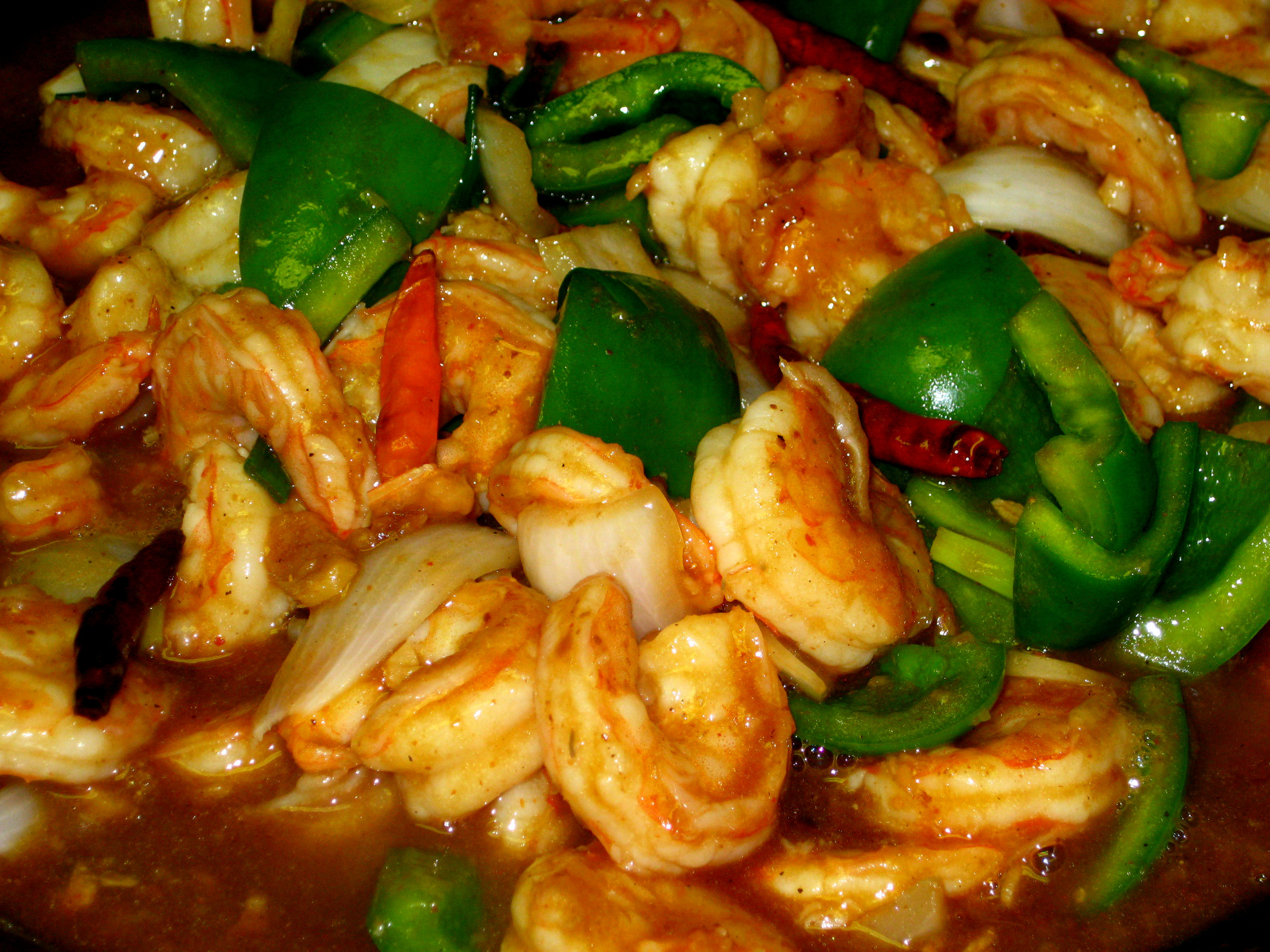 Shrimp with Black Bean Garlic Sauce | AmerAsian Home Cooking