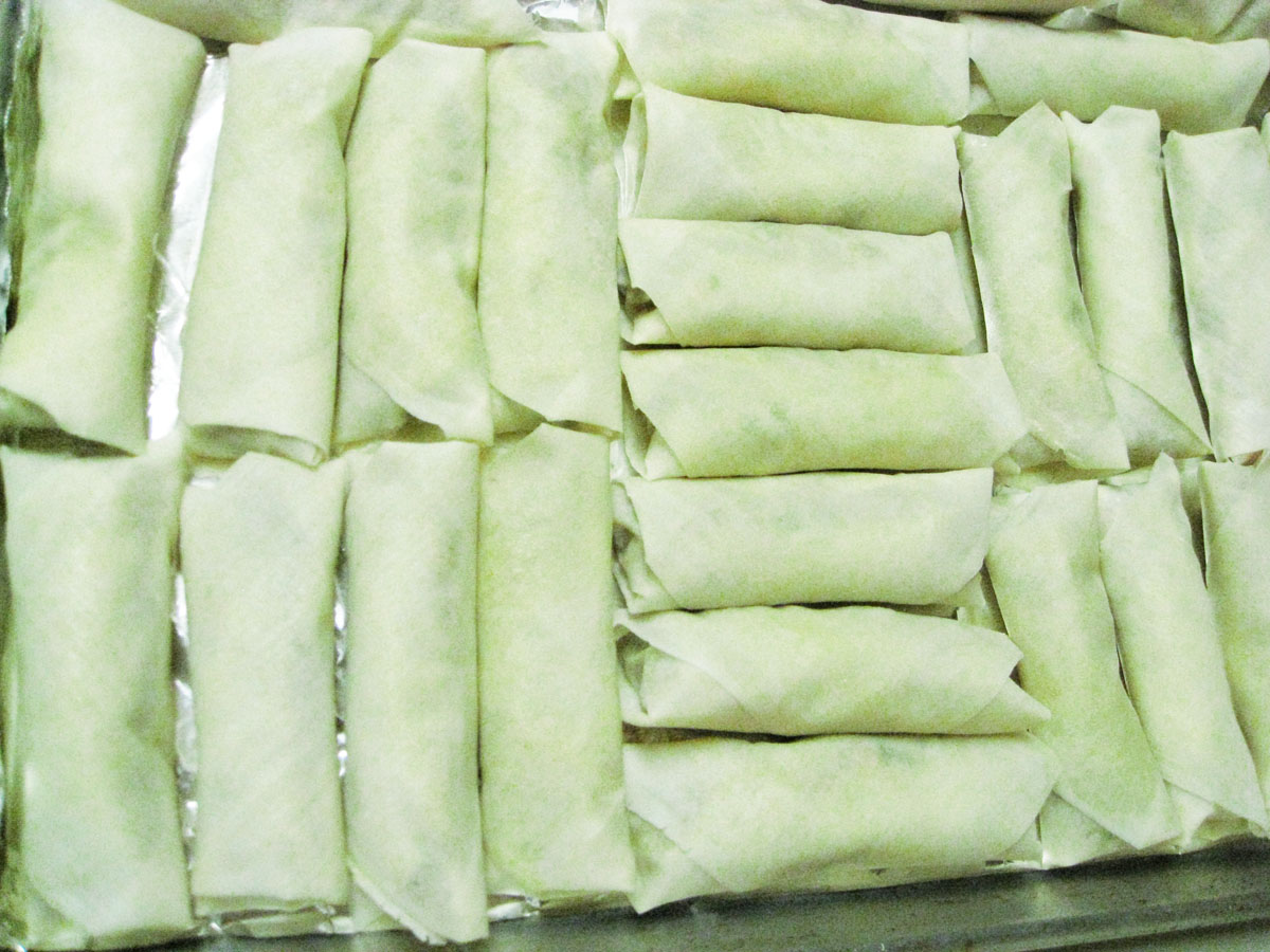 rolled lumpia