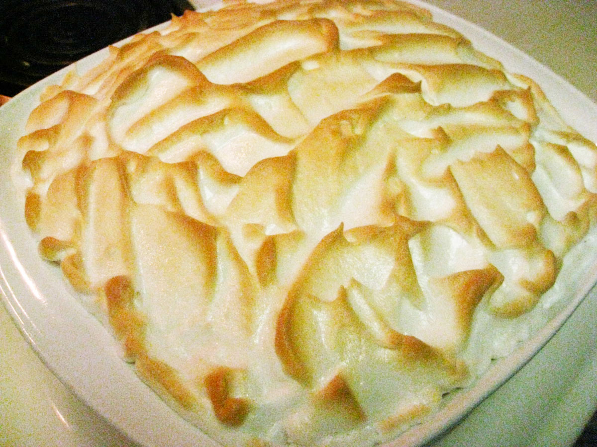 Southern Style Banana Pudding » Meringue Topped Banana Pudding