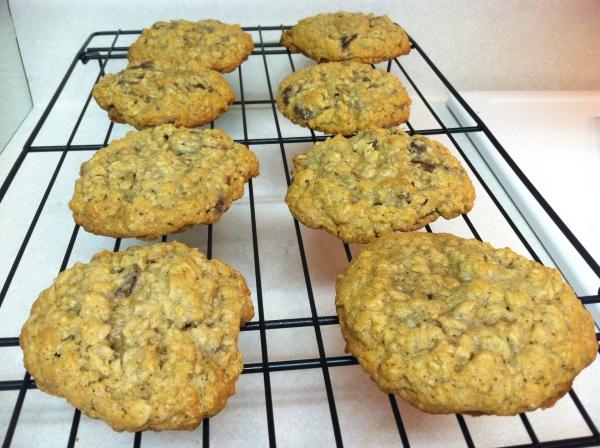 chocolate oatmeal raisin cookies