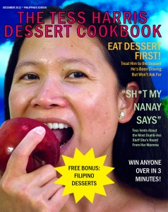 The Tess Harris Dessert Cookbook - FRONT Cover